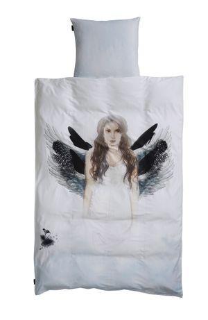 Bedlinen -Angel - Voksen med ekstra længde - tilbud - spar 250,-