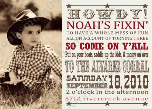 Best 25 Cowboy party invitations ideas on Pinterest Horse theme