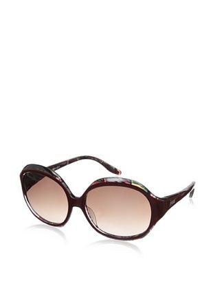 57% OFF Emilio Pucci Women's EP658S Sunglasses, Violet/Multicolor