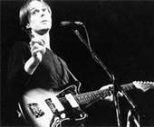 Tom Verlaine born in Morristown, New Jersey) is a singer, songwriter and guitarist, best known as the frontman for the New York rock band Television.  --- There was punk energy propelling Television, but guitarist Tom Verlaine was no angry primitive hacking at the strings. He used a crisp, needling attack and favored long, carefully developed exchanges with guitarist Richard Lloyd. The result was music of Coltrane-like depth at a time when the spastic outburst was the norm.