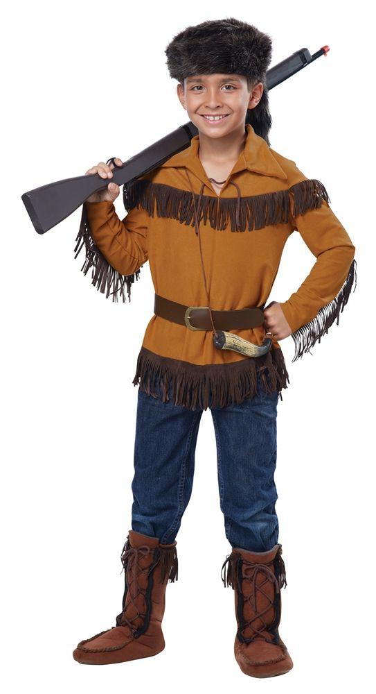 Frontier Boy Davy Crockett Child Costume - 352783