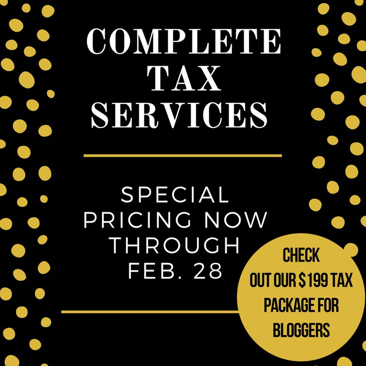 Taxes for Bloggers | Tax Tips & Tax Advice | Taxes for Side Hustles | Family Budget | Business Finances | Accounting for Blogs