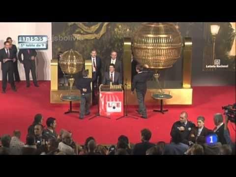 El Gordo de la Lotería de Navidad 2010 - Ivan Quintero Nervioso - YouTube