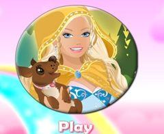 Barbie puzzle rotund