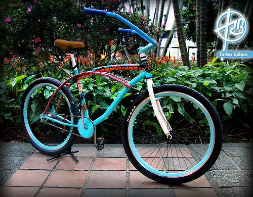 Bicicleta de la serpiente de agua
