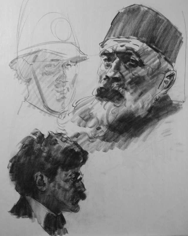 Offizielle Glen Orbik Website – Zeichnung / Demos 10 – 25 min.-Kopf / IMG 3990