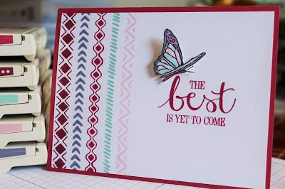 Stamping and other stuff: WCC28 Buffy's Colour Challenge with Bohemian Borders