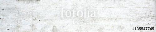 """Téléchargez la photo libre de droits """"White old plaster wall Background."""" créée par interpas au meilleur prix sur Fotolia.com. Parcourez notre banque d'images en ligne et trouvez l'image parfaite pour vos projets marketing !"""
