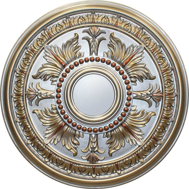 MD-9049 Fall Pewter Ceiling Medallion $159   30""