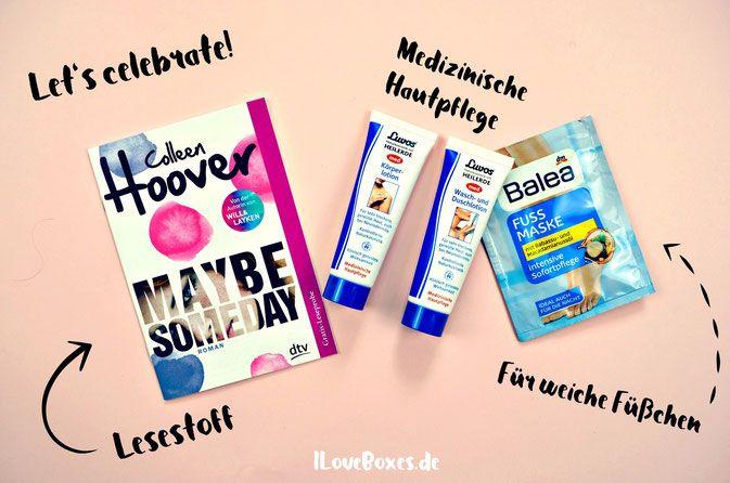 Kosmetik Produkte aus der Pinkbox