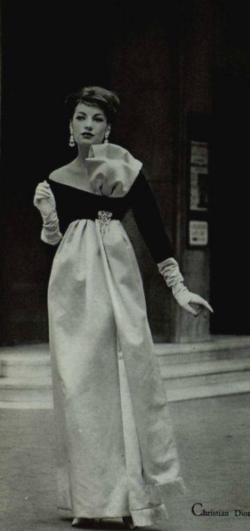 1958  Christian Dior. El modisto marcó la década de 1950