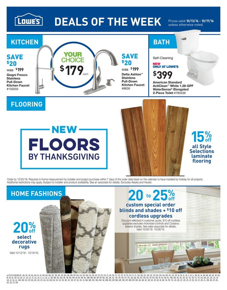 Lowe's Sale Ad - http://www.istoreads.com/lowes-weekly-ad/