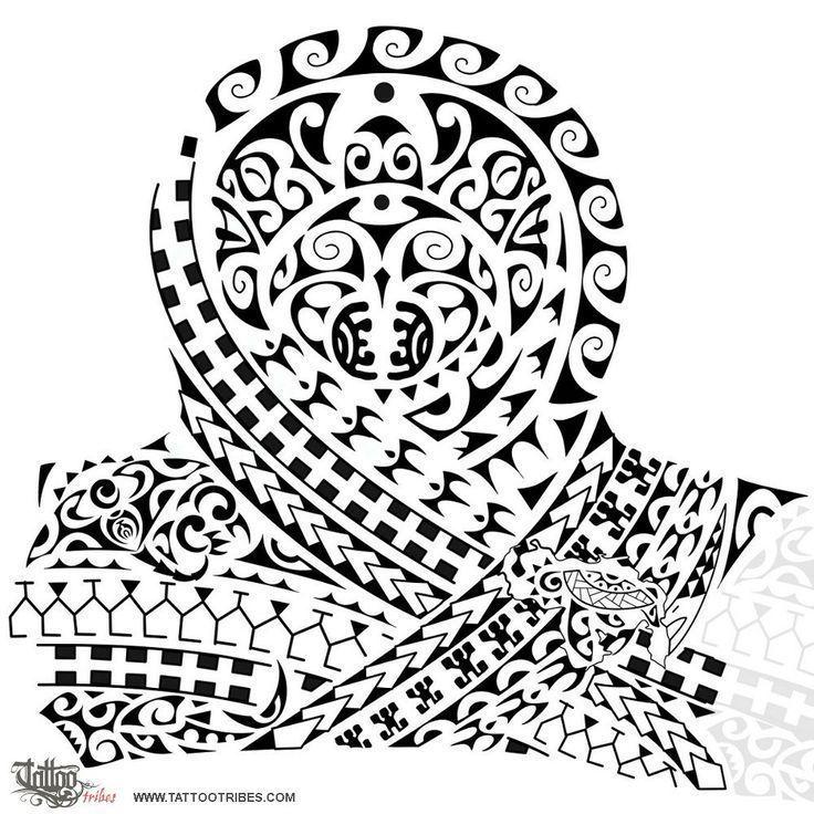 Polynesian shoulder marquesantattooshalfsleeves