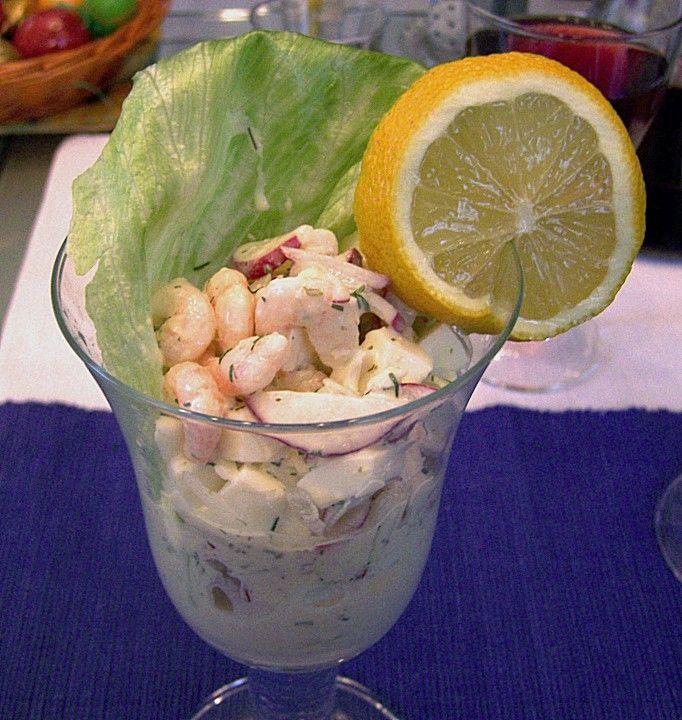 Eier - Krabben - Cocktail