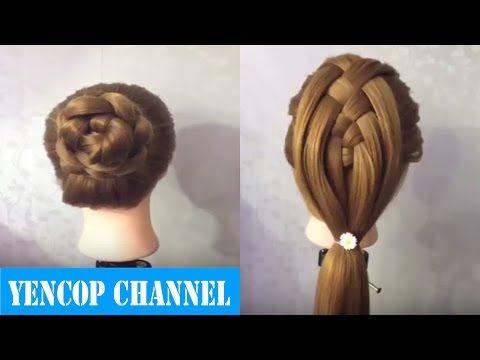 TRENZA BÁSICA FACIL | Peinado 2015 - 2016 ♥ Yencop - YouTube