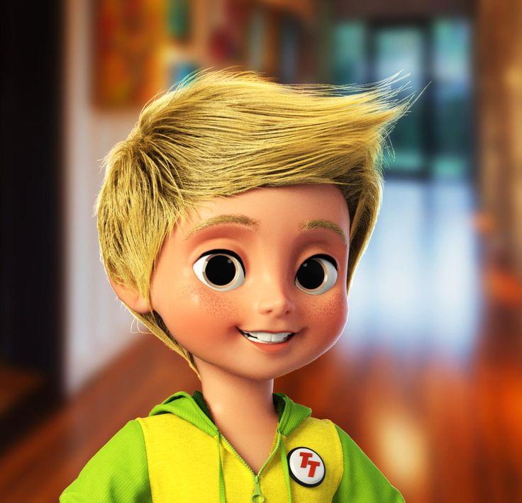 CGI animation character