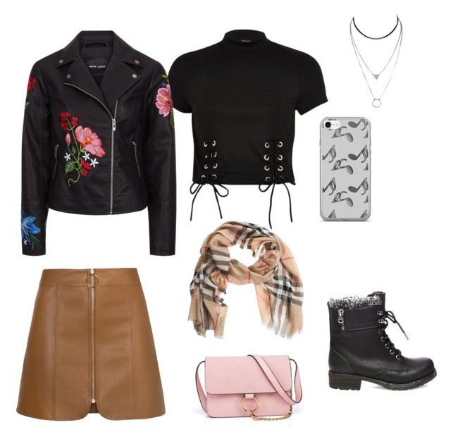 Untitled #1 by afsyara-fifa on Polyvore featuring polyvore, fashion, style, River Island, Steve Madden, Anja, Burberry, Music Notes and clothing