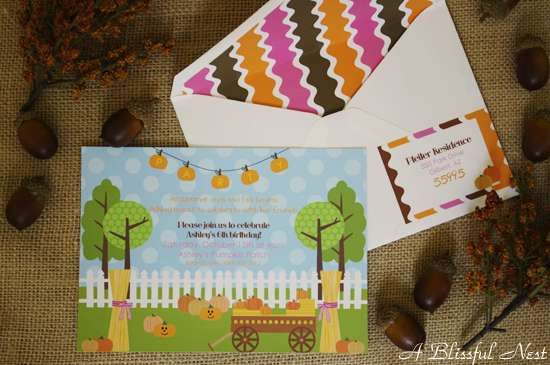 Girly Pumpkin Patch Birthday Party Ideas | Photo 47 of 48