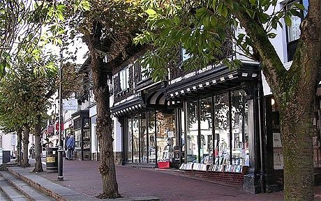 The Book shop, East Grinstead - My home town