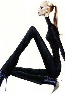 Fashion Illustrator, Arturo Elena