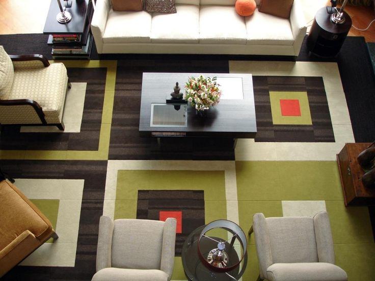 Extra Large Modern Area Rug For Huge Living Room