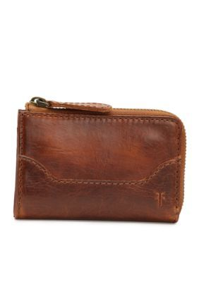 Frye Melissa Small Zip Wallet - Cognac - One Size