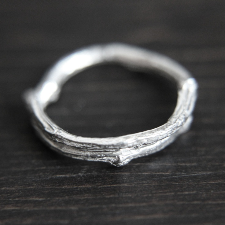 Branch Ring  By Samantha Bird: Branches Rings, Branches Stacking, Trees Branches, Rings Design, Stacking Rings, Wedding Rings, Jewelry Rings, Products, Urban Aviary