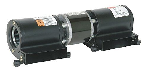 Dayton Model 1TDU7 Low Profile Blower 115 Volt for Fireplace or Wood Stove (4C825) by Dayton