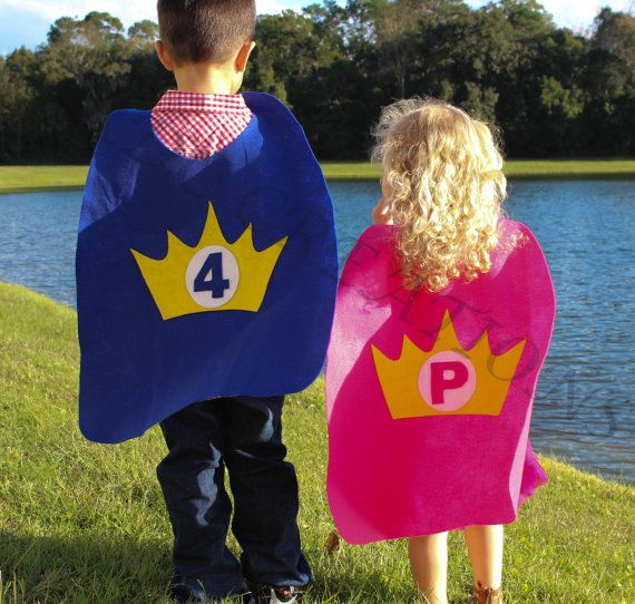 Princess Cape for a birthday party favor  kids by CRDCcreations