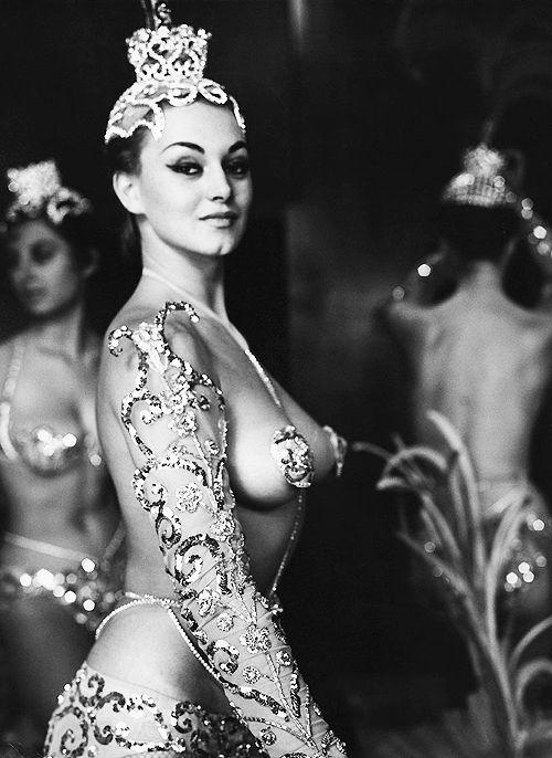 Chorus Girl from the Parisian Latin Quarter, C.1950's. Photo By Peter Basch