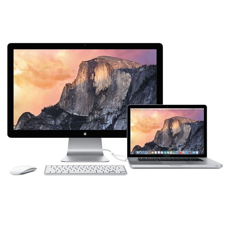Apple Thunderbolt Display (27palcový) - Apple Store (Česká republika)