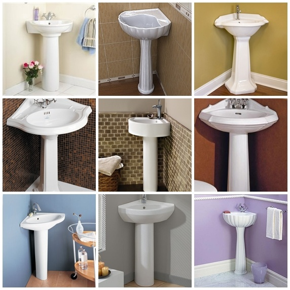 1000 Ideas About Corner Pedestal Sink On Pinterest Sinks For Small Bathrooms Small Pedestal