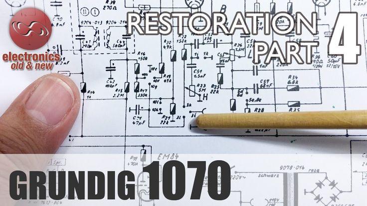 Grundig 1070 tube radio restoration - Part 4. AM is done. If aligned. FM...