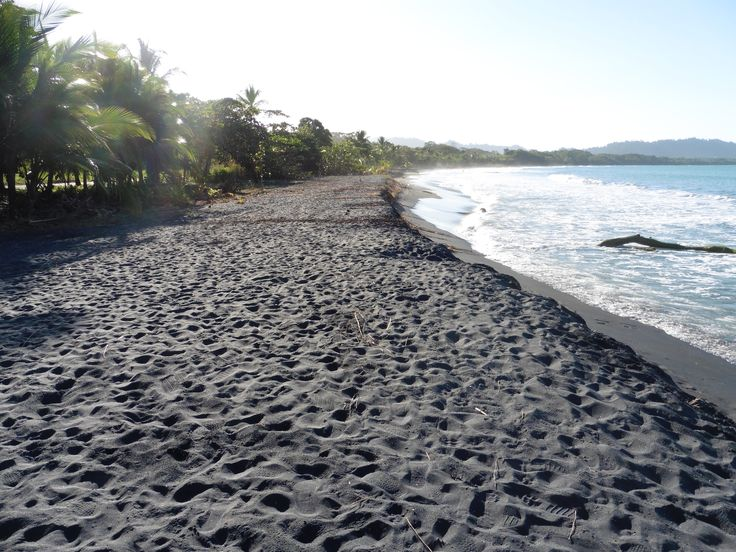 211 best travel triumphs images on pinterest for Black sand beaches costa rica
