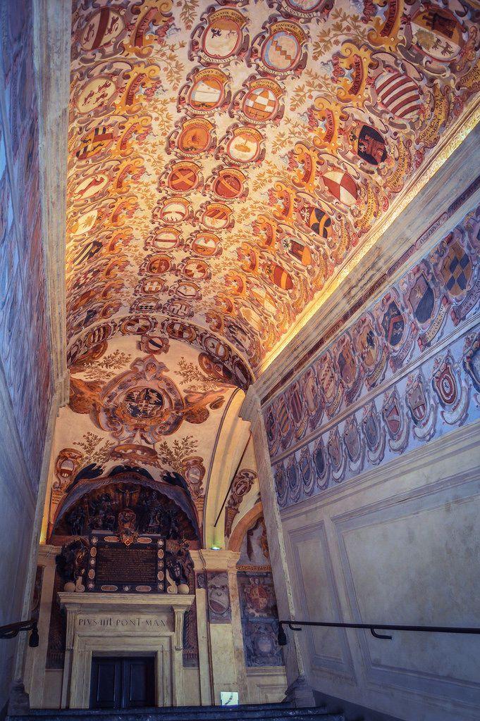 Palacio del Archiginnasio de Bolonia (Bologna - Italy)