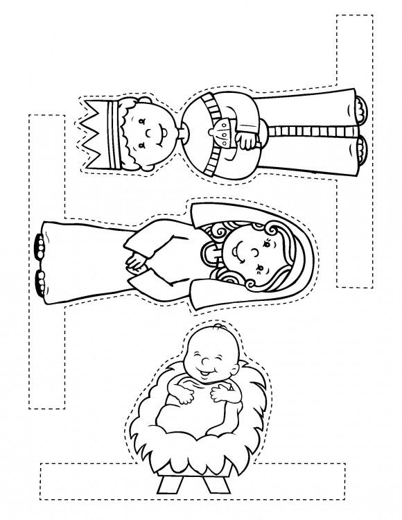 Nativity Scene Craft Page 2