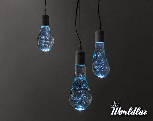 Lampki niczym balony wodne - Kto z nas, jako dziecko, nie uwielbiał walki na wodne balony? Grupa Architektó... - WorldLux.pl - uwolnij marze...