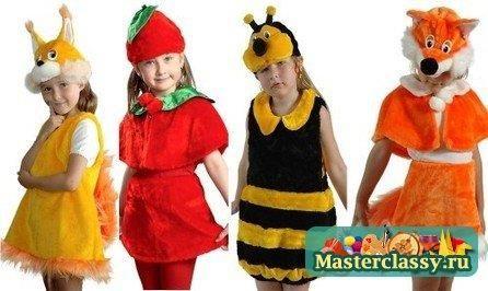 Фантастические карнавальные новогодние костюмы своими руками