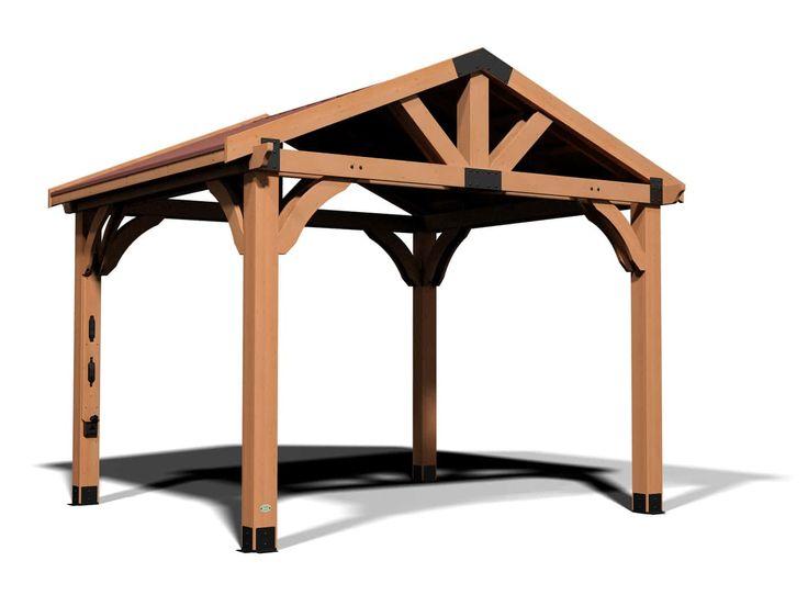 Brookdale 12 x 10 Gazebo | Gazebo, Outdoor living space ... on Backyard Discovery Pavilion id=36396