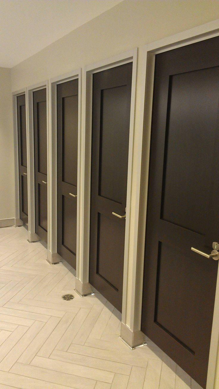 Best 10 bathroom stall ideas on pinterest narrow - Commercial bathroom partition doors ...