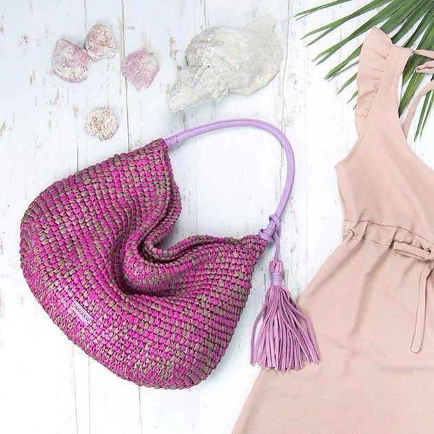 Inspirational picture of Abbacino. #DoubleCheck #Abbacino #Beach #Bag #Summer #Collection #Purple #Pink