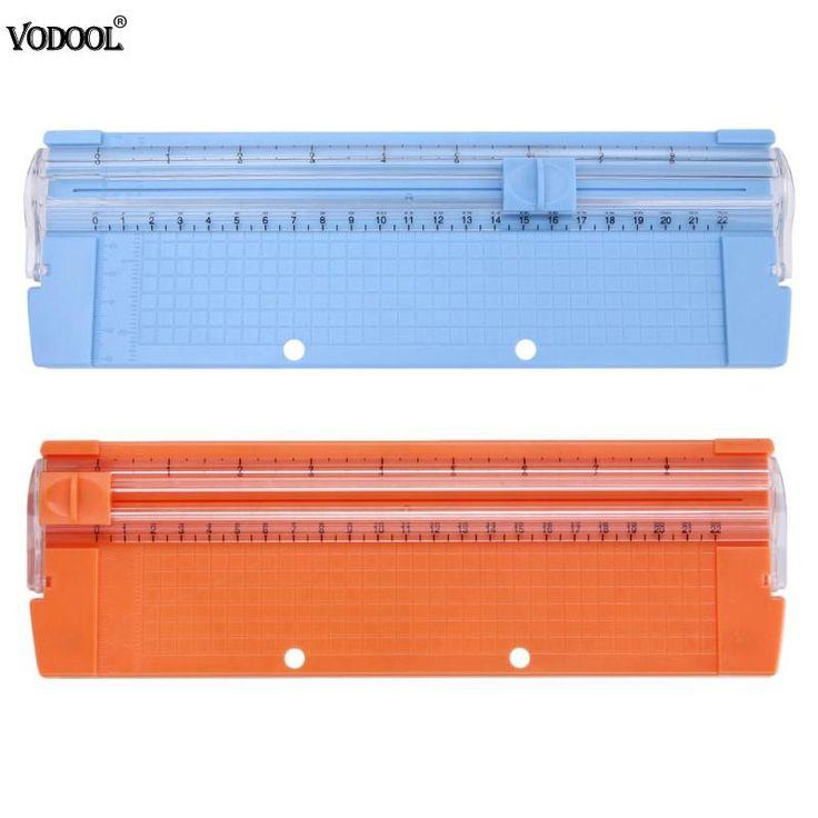 A4/A5 Luz Portátil Paper Trimmer Aparador de Precisão Foto Cortador De Papel do Scrapbook Ferramenta Aparador de Máquina De Corte Do Tapete Bom papel