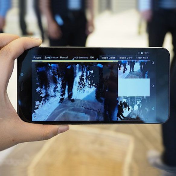 Google's Project Tango Smartphone to Bring Intel 3D Scanning to the Masses
