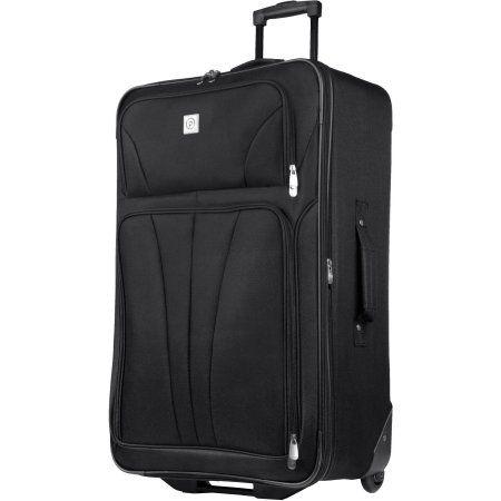 Protege Monticello 28 inch Check-In Luggage, Black