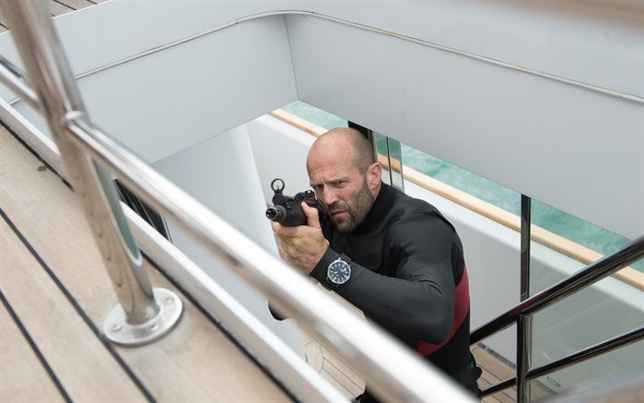Mechanic Resurrection, 2016, Jason statham, Mechanic 2, Heckler Koch MP5, Arthur Bishop