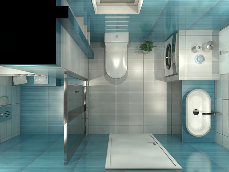 3D απεικόνιση μπάνιου RITMO