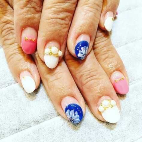 simple french tip nail art designs 2017  french tip nail