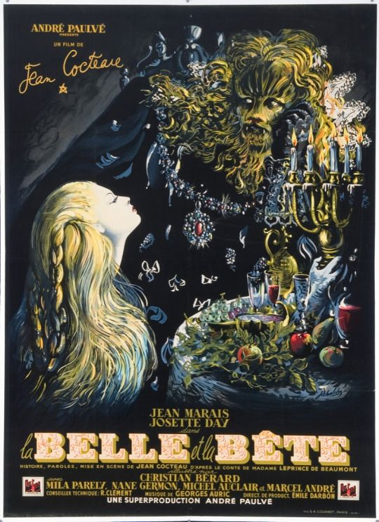 Beauty and the Beast (1946)    directed by Jean Cocteau