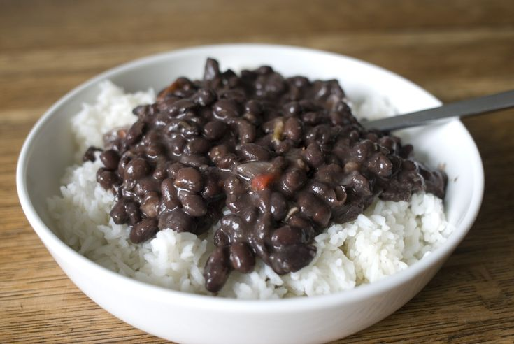 Food So Good Mall: Spicy Cuban Black Beans and Rice