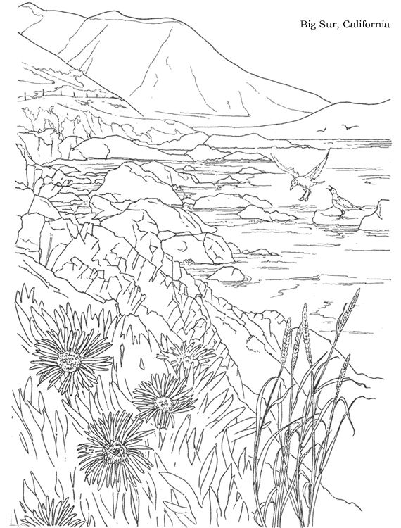 80 best Adult Coloring Pages BEACH TRAVEL images on Pinterest
